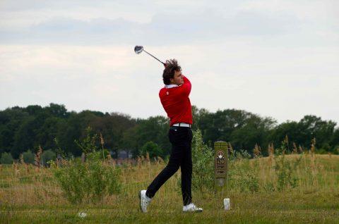 Oud stagiair in winnend team hoofdklasse golf.