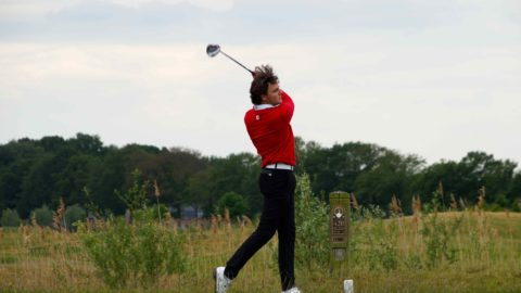 Oud stagiair in winnend team hoofdklasse golf.