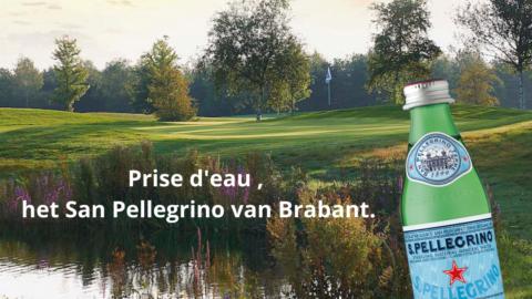 Prise d'eau, het San Pellegrino van Brabant