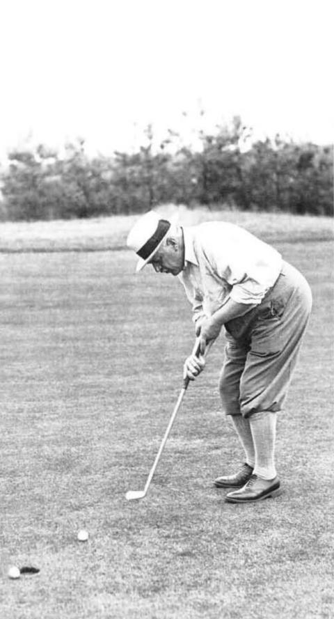 Golf, alleen voor oude mannen?